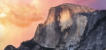 Yosemite's Release Beats Last Year's Maverick Release