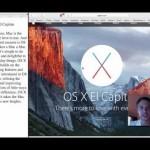 Using split screen view in Mac OSX El Capitan